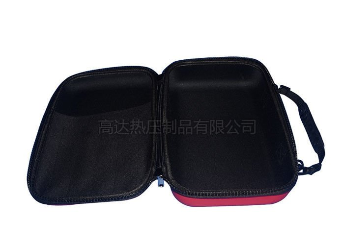 Custom Carry Case for Power Bank, PU surface With Straw Mat Pattern